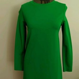 Lord & Taylor 424 Fifth green dress Size PXS